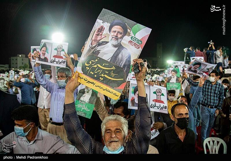 استقبال بزرگ خوزستانی ها از آیت الله رئیسی+عکس