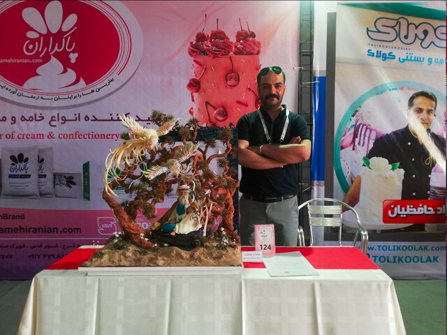 کیک عجیب ۳۰ میلیون تومانی در تهران+عکس