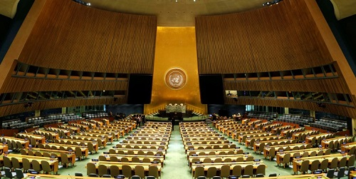 حق رای ایران در سازمان ملل برگشت