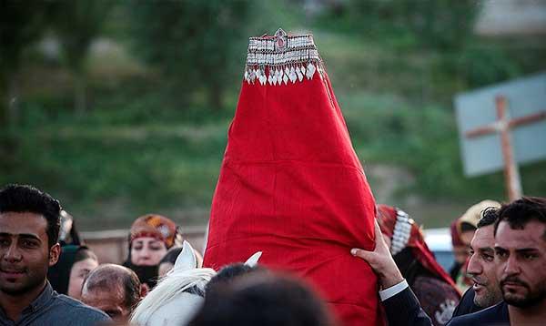 عروس قرمزپوش کلات به خانه بخت رفت+عکس