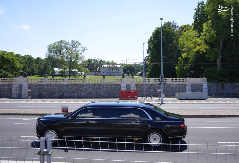 خودرویی که پوتین با آن به دیدار بایدن رفت+عکس