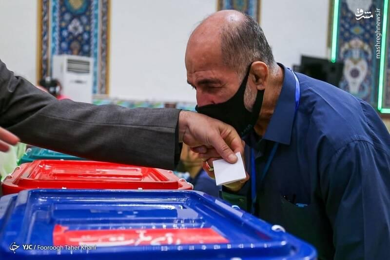 زیباترین تصویر از انتخابات امروز+عکس