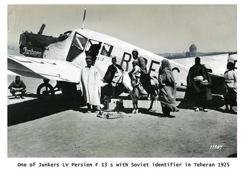 وقتی مردم ایران برای اولین بار هواپیما دیدند+عکس