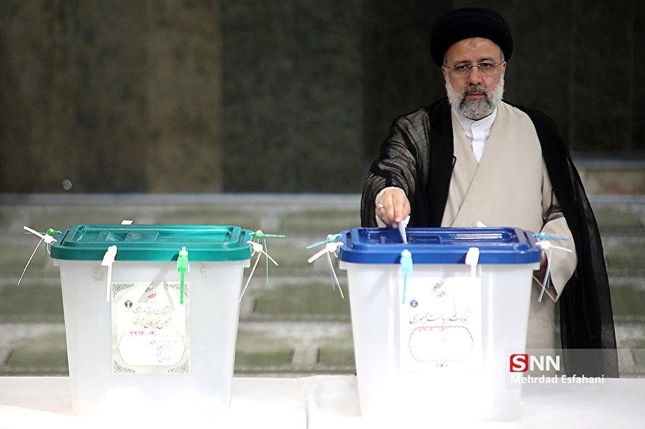 شرکت سید ابراهیم رئیسی در انتخابات ۱۴۰۰