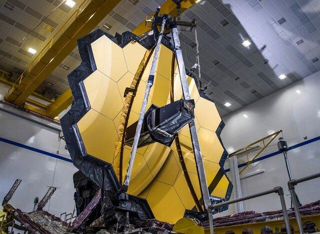 مدار گردش تلسکوپ  جیمز وب  در فضا