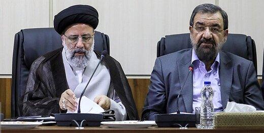قاضی زاده هاشمی و رضایی به رئیسی تبریک گفتند