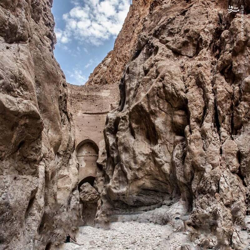 نازک ترین سد جهان در ایران+عکس