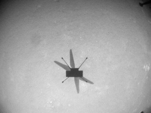 بالگرد نبوغ  هشتمین پروازش را در مریخ انجام داد
