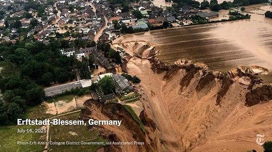 تصویر آخرزمانی از سیل آلمان+عکس