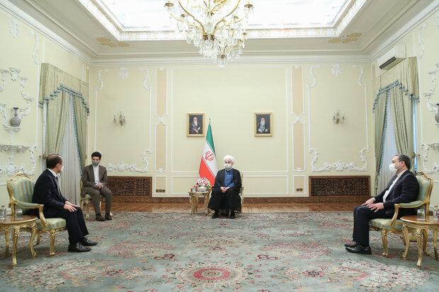 تاکید رئیسجمهور بر استفاده از ذخایر مالی ایران در بانکهای کرهجنوبی
