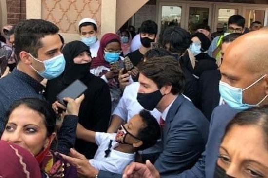 تبریک متفاوت نخست وزیر کانادا برای عید قربان+عکس