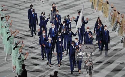 تصویر تلخ از رژه پناهندگان در المپیک با ۵ ایرانی+عکس