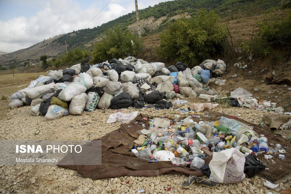 معضل دفع زباله در منطقه دودانگه ساری