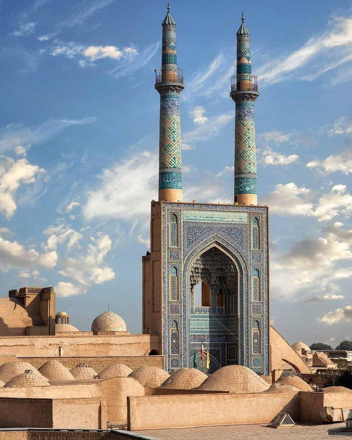 تصویر دیدنی از مسجد جامع یزد+عکس