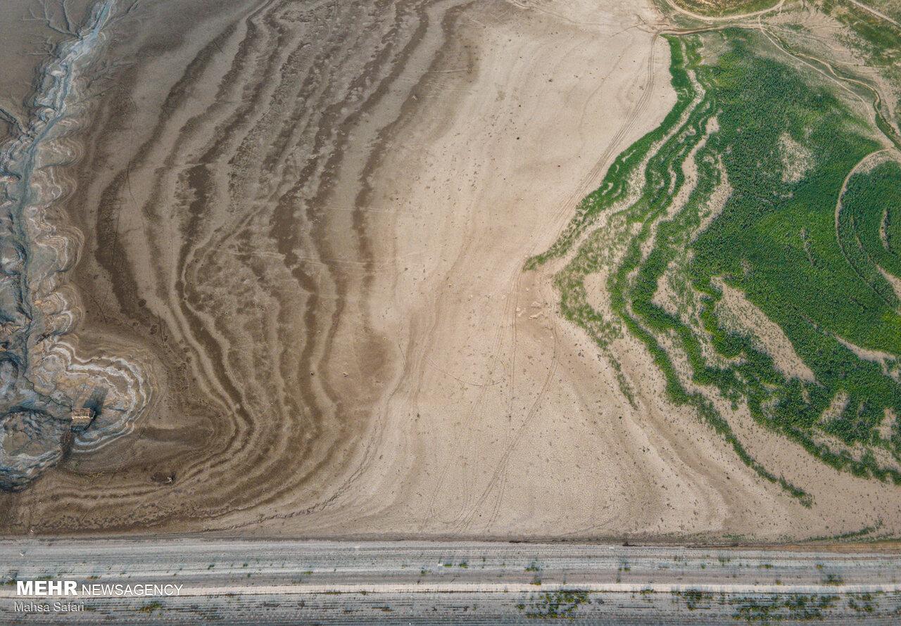 تصاویر هوایی از فاجعه در گلستان+عکس