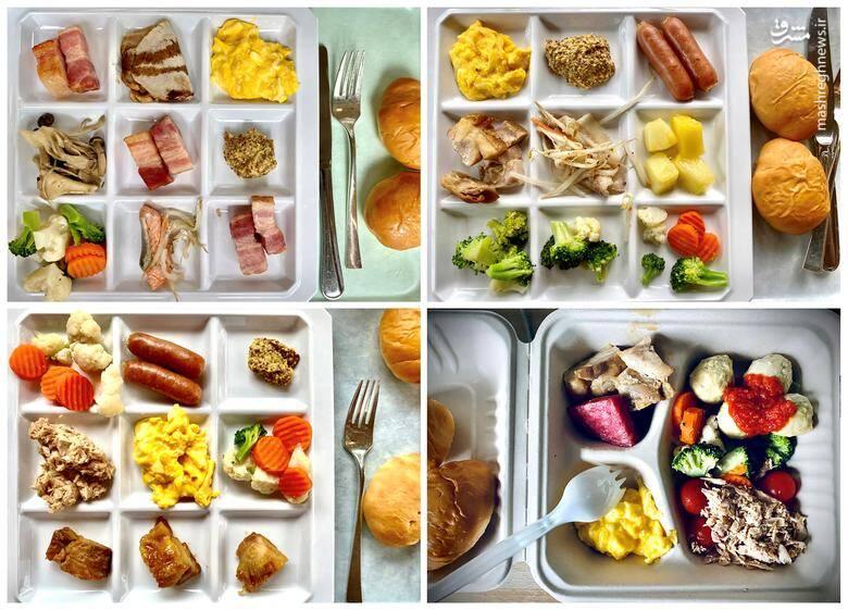غذایی که ورزشکاران در دهکده المپیک میخورند+عکس