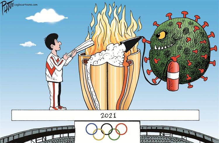 خرابکاری بزرگ در المپیک +عکس