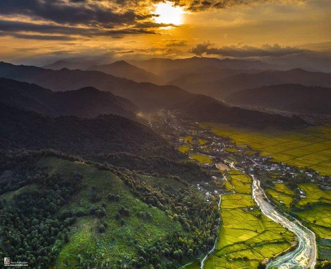 تصویر هوایی خیره کننده از تالش+عکس