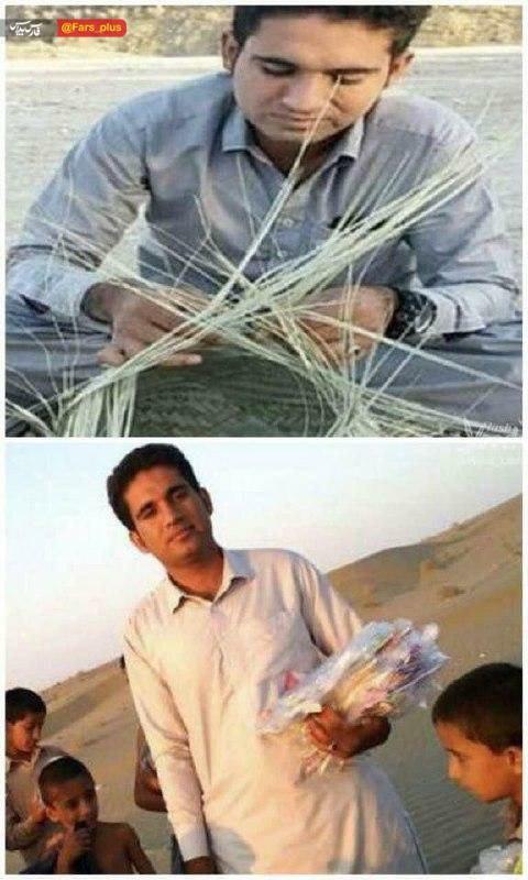 کار جوان بلوچستانی همه را متعجب کرد+عکس