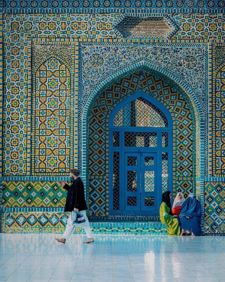 تصویر فوق العاده از مزار شریف افغانستان+عکس