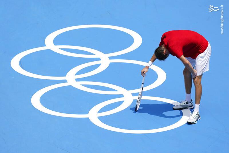 دردسر بزرگ برای تنیسور اسپانیایی+عکس