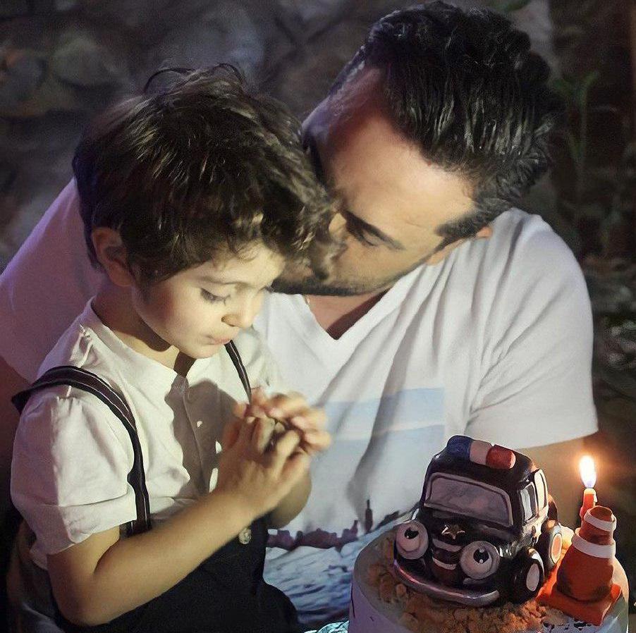 جشن تولد پسر مجری معروف+عکس