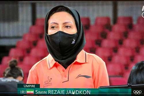 داور زن ایرانی در المپیک همه را متعجب کرد+عکس