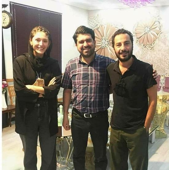 تصویر داغ از مراسم عقد نوید محمدزاده+عکس