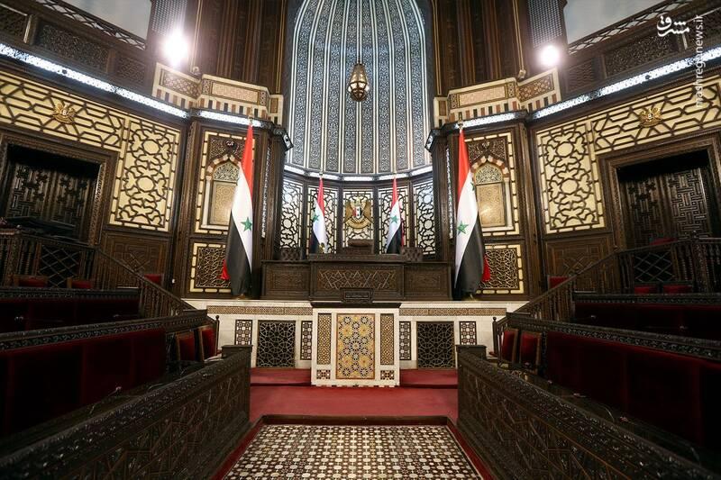 معماری جذاب پارلمان سوریه+عکس