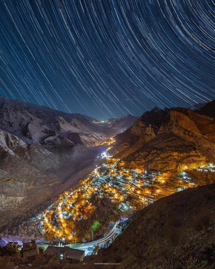 شب های ستاره باران اورامانات+عکس