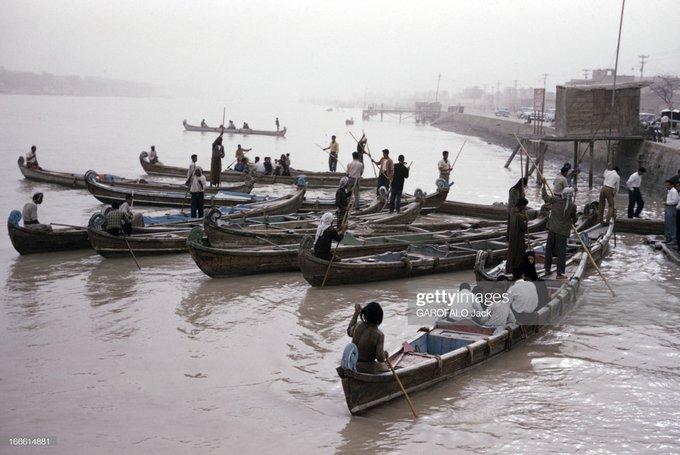 تصویر قدیمی از خوزستان پر آب+عکس