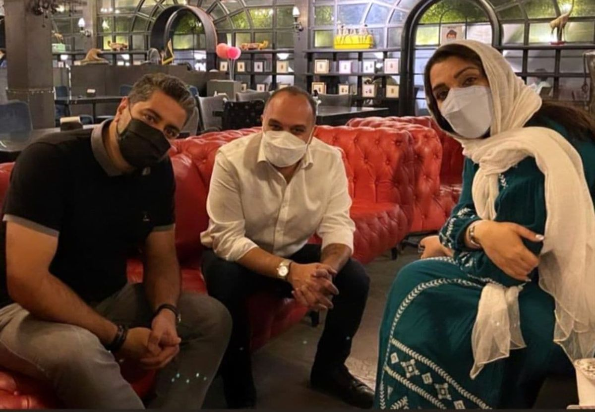 همسر آزاده نامداری پس از مدت ها دیده شد+عکس