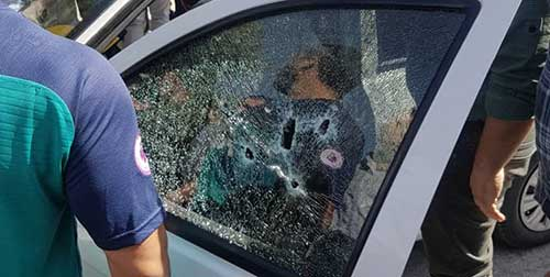 زن کرمانشاهی شوهرش را جلوی چشم مردم تیرباران کرد +عکس