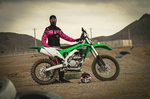 اتفاق تاریخی برای زن موتورسوار ایرانی+عکس